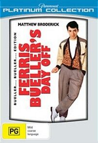 Ferris Bueller's Day Off - New & Sealed R4 Dvd (Matthew Broderick, Alan Ruck)