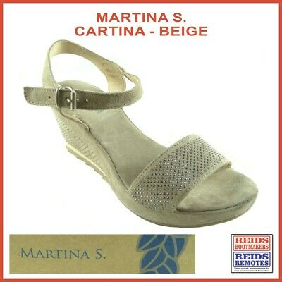 Cartina by Martina S. Italy - suede leather ladies sandal - tiny sparkling studs