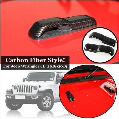 Air Vent Trim ABS Decoration For Jeep Wrangler JL 2018-2019 Accessories