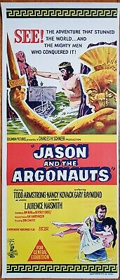 Jason and the Argonauts original daybill movie poster