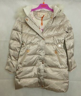 Ted Baker Down Padded Pearlised Coat Age 9 Years rrp £93 CR091 EE 09