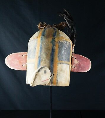41# Antique Kachina HELMET - PUEBLO - Native American