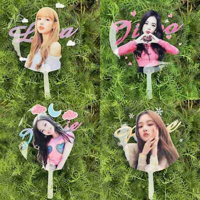 2019 BLACKPINK Summer Hand Fan Outdoor Portable Mini Fan LISA JENNIE JISOO LISA