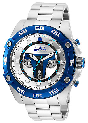 Invicta Men's 'Star Wars' Quartz Stainless Steel Watch, Color:Silver-Toned (Mode