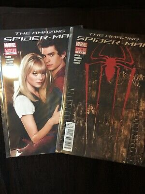 The Amazing Spiderman #1-2 Set Marvel