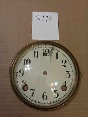 Gilbert Mantle  Clock Dial And Bezel With Glass