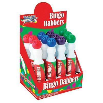 Go Bingo, Bingo Dabbers, Pens, Marker Assorted Colours