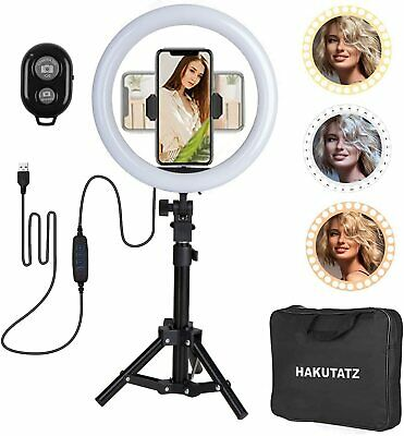 USB Ring Light 10 inch With Tripod Stand