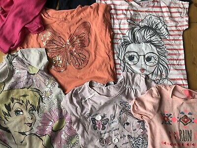 Joblot GIRLS CLOTHES BUNDLE leggings OUTFITS TOPS t-shirts Age 8-9 Years 8 9