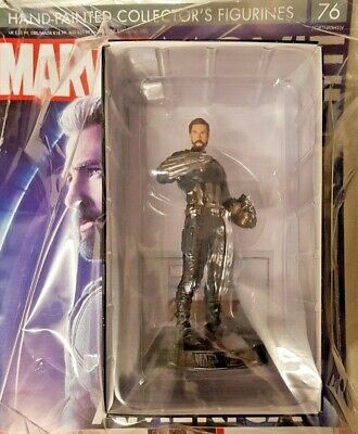 Marvel = Movie Collection Figurine = Issue = 76 = Captain America = Mag + Model