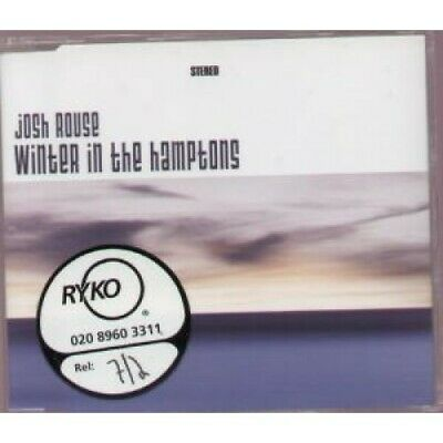 JOSH ROUSE Winter In The Hamptons CD Europe Ryko 2004 2 Track With Info