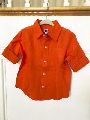 1c7172bc JANIE AND JACK Green Flannel Button Down Collar Shirt Size 3t ...