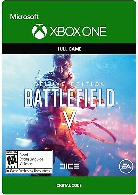 ⭐️ Instant Digital Code ⭐️ Battlefield V 5 Deluxe Edition Xbox One Full Game ⭐️