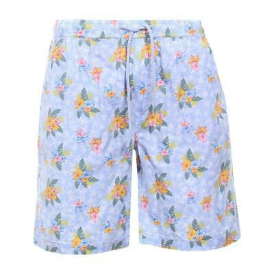 Mens Holiday Fun Print Hawaiian 100% Cotton  Shorts By Brave Soul