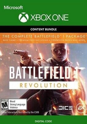 ⭐ Battlefield 1: Revolution + Battlefield 1943 Xbox One Game Instant Delivery ⭐️