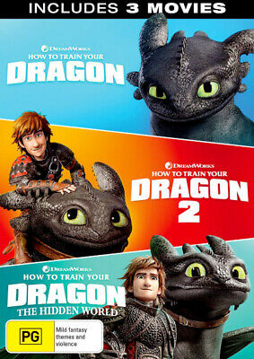 How to Train Your Dragon / How to Train Your Dragon 2  . - DVD - NEW Region 2, 4