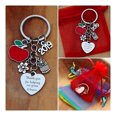 THANK YOU GIFT FOR  TEACHER -Teaching assistant,Nursery teacher Keyring* ( 2019)