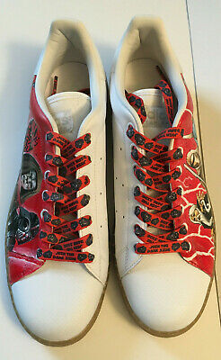 34f616e455dc6 CUSTOM HAND PAINTED Adidas Stan Smith Star Wars Athletic Shoes Size 12 NEW