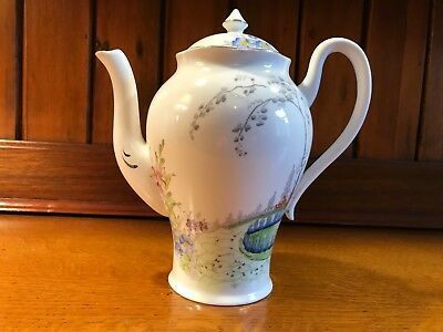 Art Deco Jhc & Co Wellington China Part Hand-Painted Hot Chocolate/coffee Pot