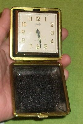 Antique Bradley Alarm Clock NO 4995 in box & instructions very nice decor works