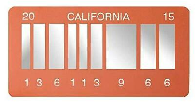 BTTF Merchandise - Movie Replica Prop From DeLorean 2015 Metal Licence Plate