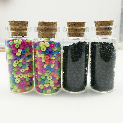 1 vial 500pcs 2mm  DIY Charm Czech Glass Seed beads Jewelry Making Craft