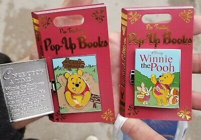 Disney Parks Pin Trading POP Up Winnie the pooh pin Le 4000