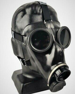 New Swiss Military Gas Mask NBC PROTECTION (NO FILTER) Emergency Authentic