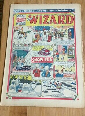 Christmas Issue 1954 : The Wizard Comic : FREEPOST