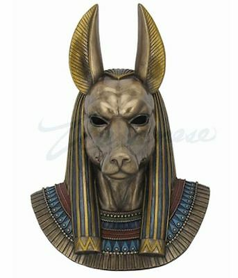 Anubis Bust Egyptian God of the Dead Wall Decoration Figurine FATHERS DAY GIFT