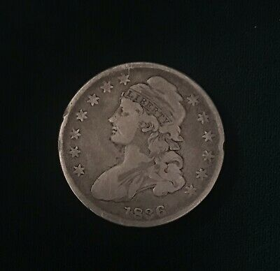 1836 Capped Bust Silver Half Dollar