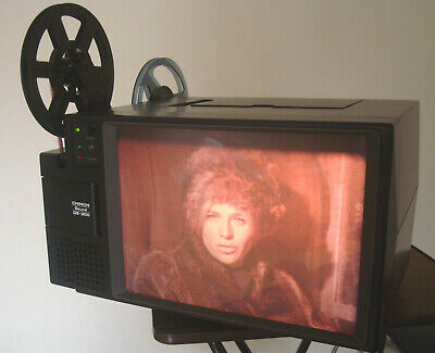 Chinon Sound DS 300 Magnetic Sound TV style daylight CINE  PROJECTOR Super 8