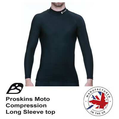 Motorcycle Proskins Moto Base layer long sleeve top for under leathers