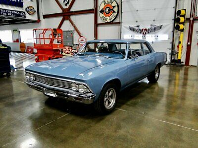 1966 Chevelle 300 Deluxe 1966 Chevrolet Chevelle, Mist Blue with 81,431 Miles!