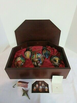 Nativity Religious Ornaments Christmas Current 1991