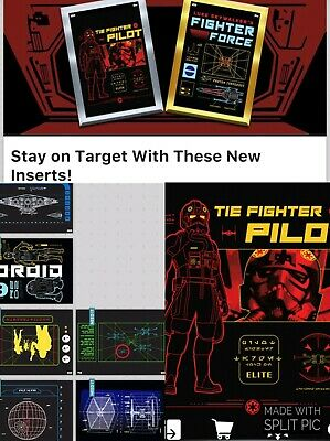 Topps Star Wars Card Trader SWCT Stay on Traget Set of 6 with Meld : Award Ready