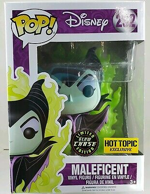 Funko Pop Disney Series Maleficent Glow In The Dark Chase Hot Topic Exclusive