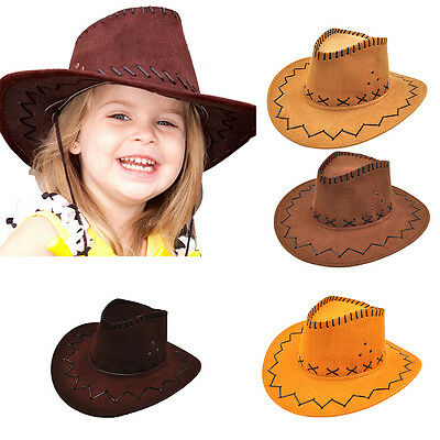 Halloween Western Cowgirl Cowboy Hat For Kid Boys Gilrs Party Costumes TYDLUK