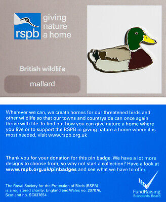 RSPB Pin Badge | mallard GNAH (01266)
