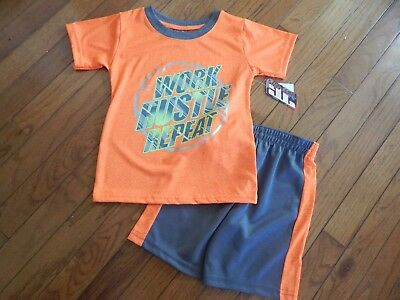 Boy's short set size 4T by Tuff Guys Brand New with Tags..For your little sport