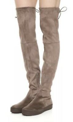 3ecbb52dab0 STUART WEITZMAN Playtime Ultrastretch Suede Over the Knee Boots