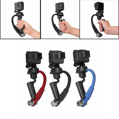Mini 3-Axis Handheld Gimbal Stabilizer Video Alloy Hand Grip Fr GoPro Hero 5 4 3