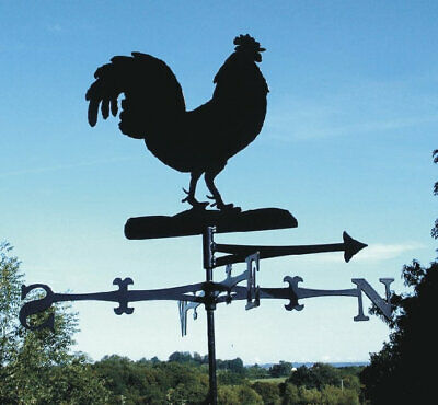The Profile Range Cockerel/Rooster Design Weathervane