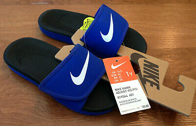 cf86eea69 NWT BOYS YOUTH Kids Nike Kawa Adjust Slide Sandal -  24.95