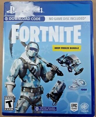 Fortnite: Deep Freeze Bundle - Ps4 - Factory Sealed - Brand New - Free Shipping