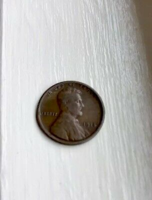 1914 S Lincoln Wheat Ear, Cent, Penny. XF