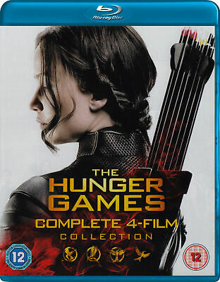 The Hunger Games The complete Collection (no cover) [Blu-ray] *Used!!