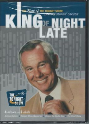 The Best of The Tonight Show Starring Johnny Carson King of Late Night DVD #a4