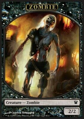 MRM FRENCH 4x Token - Jeton Zombie 2/2 MTG magic ISD