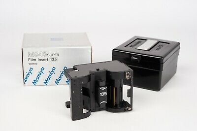 Mamiya M645Super  Film Insert 135 - NEW OLD STOCK